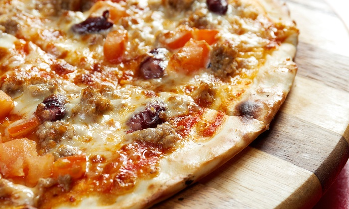 Papa John's Pizza - Brookings: $23 or Xl Specialty Pizza or Create Your Own Five Topping Pizza from Papa John's (Up to 43% Off)