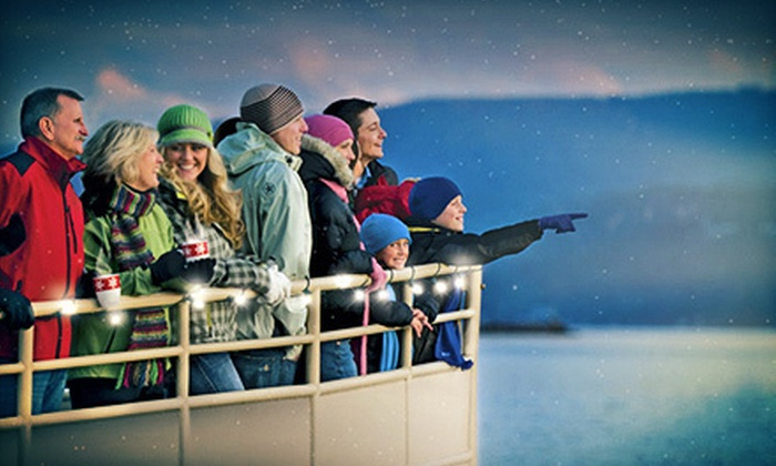 Lake Coeur d'Alene Cruises - Coeur d'Alene: $19 for Journey to the North Pole Cruise for Two, Sunday–Thursday, from Lake Coeur d'Alene Cruises (Up to $37.50 Value)