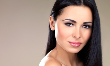 Haircut with Deep Condition and Blow Dry, with Optional Color or Partial or Full Highlights (60% Off)