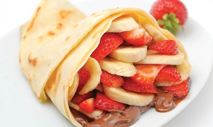 Crepe Delicious Cambridge - Cambridge : Crepes and Self-Serve Gelato at Crepe Delicious Cambridge (40% Off)