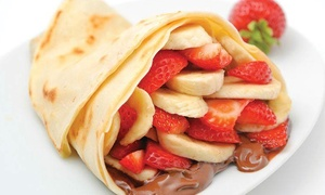 Crepe Delicious Cambridge: Crepes and Self-Serve Gelato at Crepe Delicious Cambridge (40% Off)