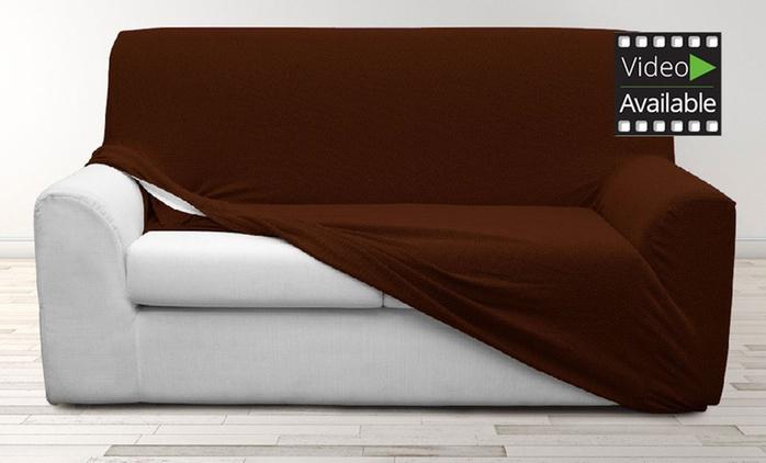 Housse de canapé extensible, modèles et coloris au choix