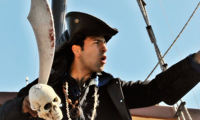 Pirate Life - Manitou Bridge, Centre Island, Toronto Islands: Two or Four Tickets to Pirate-Themed Cruise from Pirate Life (Up to 51% Off)