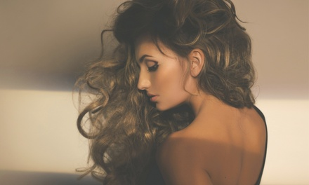 Cut Package with Condition, Color, or Partial or Full Highlights at Gisela's Beauty Center & Spa (Up to 54% Off)