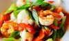 A La Carte - Culver-West: Thai Food and Drinks for Two or Four at A La Carte (50% Off)