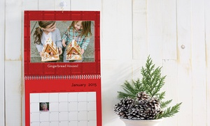 $9 For An 8x11 Custom 12-month Wall Calendar From Shutterfly (59% Off)
