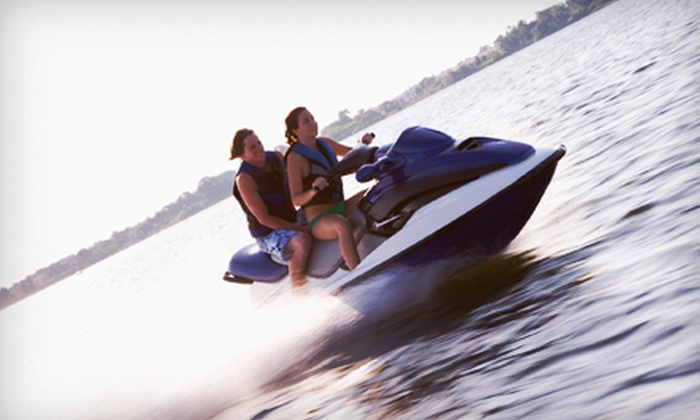 Paradise Power Sports - North Causeway: Half-Day Rental for One or Two Jet-Skis at Paradise Power Sports (Up to 65% Off)