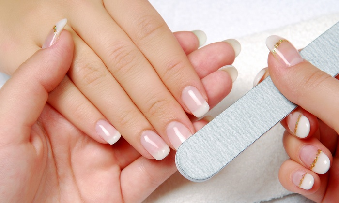 Jennifer's Nails - Downtown Leesburg: Shellac or Deluxe Manicure or Detox Foot Baths at Jennifer's Nails (Up to 58% Off). Five Options Available.