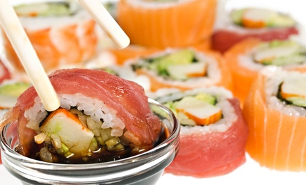 $15 for $30 Worth of Sushi and Japanese Food for Dinner at Ninja Sushi