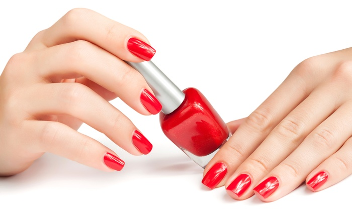 Kei Kei's Hair and Beauty - Durban: Spa Manicure and Pedicure with Gel Overylays at Kei Kei's Hair and Beauty