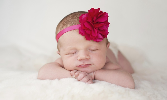 Alicia Peacock Photography - Serendipity Village: 45-Minute Newborn Photo Shoot from Alicia Peacock Photography (80% Off)