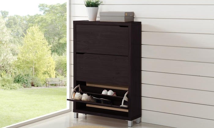 Marsha 3 Drawer Shoe Cabinet ...