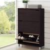 Baxton Studio 3-Drawer Shoe Cabinet