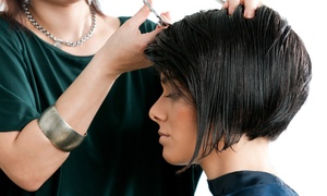 Salon 757: Haircut Package with Optional Partial or Full Color at Salon 757 (Up to 54% Off)