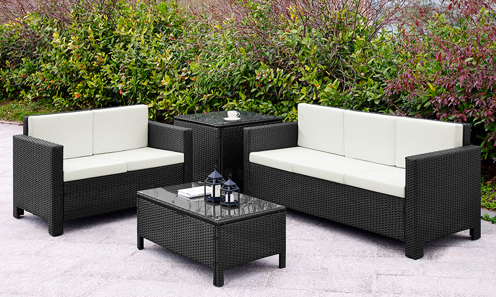 five seater garden sofa set