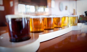 Abandoned Building Brewery: Brewery Tasting with Growlers for Two or Four at Abandoned Building Brewery (Up to 52% Off)