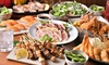 串カツ・名物鶏料理など全40品以上|食べ飲み放題120分他