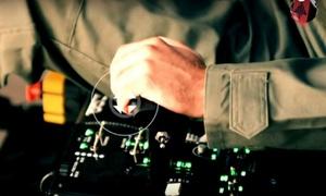Jet Fighter Experience: Pilotage d'un avion de combat simulateur 4D pour 1 à 4 personnes dès 19 € avec Jet Fighter Experience