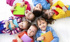 Books and Cookies: Five Activity Classes for One or Two Kids or a Birthday Party for 15 at Books and Cookies (Up to 49% Off)