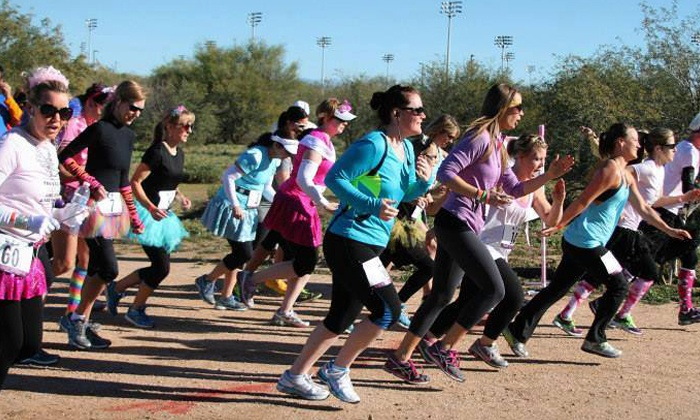 Urban Trail Adventures: One Food Truck Fun-Run Race Registration on May 12, 2016 from Urban Trail Adventures  (37% Off)