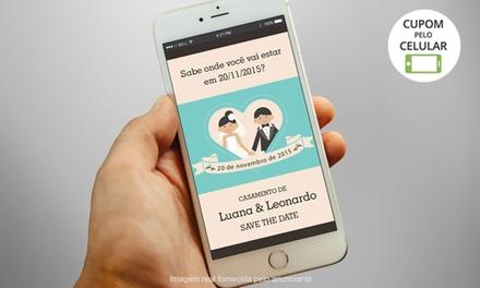 Sinequa Convites: convite digital ou save the date personalizado