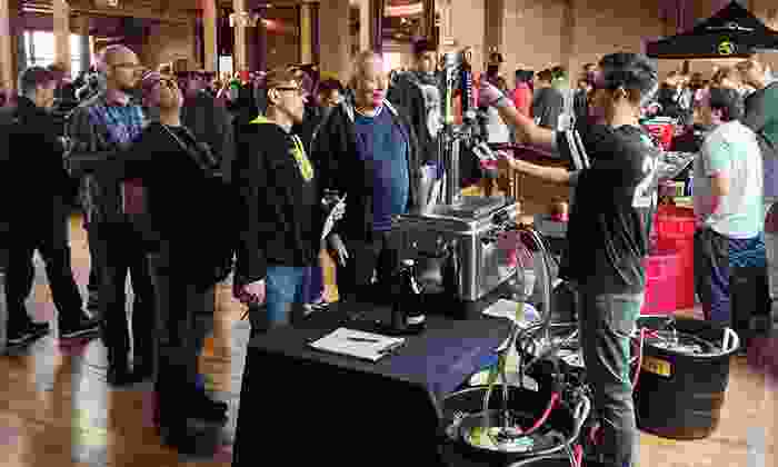 Windy City Brewhaha - Chicago: Windy City Brewhaha Beer Festival at Lacuna Artist Loft on Saturday, March 1, at 1 pm or 6 pm (Up to  Off).
