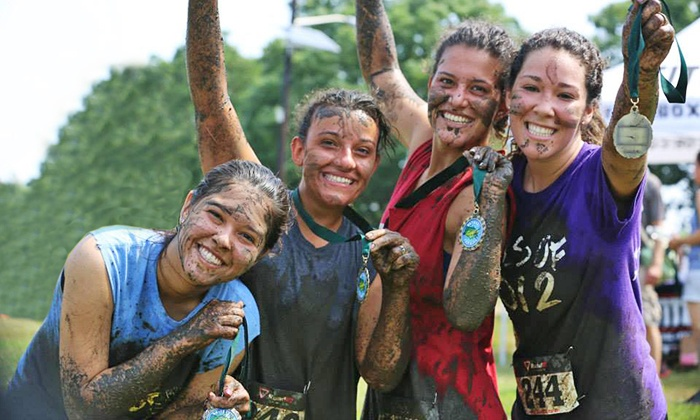 Your First Mud Run - Specialty Hospitals of New Jersey Foundation, Inc.: Registration for One or Two with T-Shirts and Medals to Your First Mud Run on September 20 (Up to 57% Off)