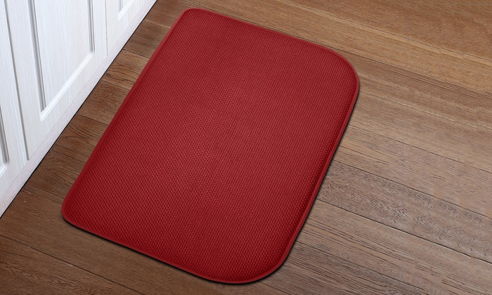 Up To 62% Off on Memory Foam Kitchen Rug | Groupon Goods