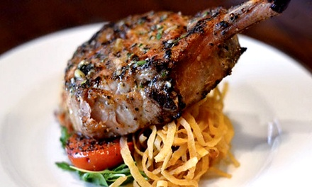 Upscale Grill Food for Dinner or Lunch at The Grille Midtown (50% Off)