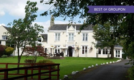 Ayrshire: 1 to 3 Nights for Two with Breakfast at the Burnhouse Manor Hotel