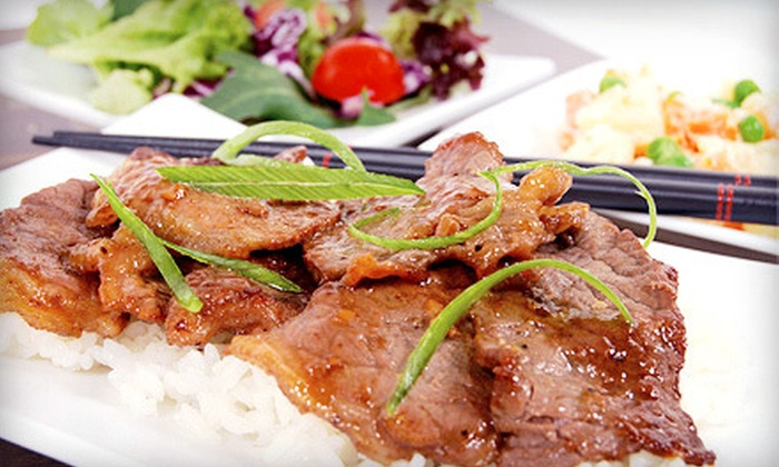 Bond Grill - Norwalk: $19 for $44 Worth of Pan-Asian Food and Drinks for Two at Bond Grill
