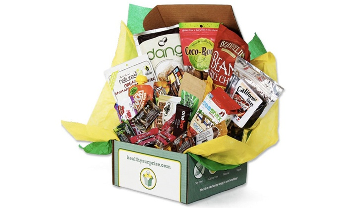 Healthy Surprise: $30 for $60 Worth of Healthy Snack-Food Gift Boxes or Subscriptions from Healthy Surprise