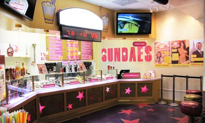 Millions of Milkshakes - West Hollywood: $10 for $20 Worth of Milkshakes, Smoothies, and Sundaes at Millions of Milkshakes
