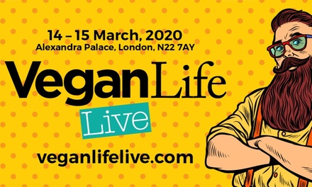 Vegan Life Live, Two OneDay Adult Tickets, 1415 March, Alexandra Palace