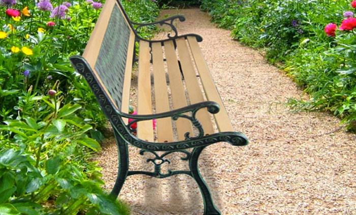 missing {{discount}} value] Banc de jardin | Groupon