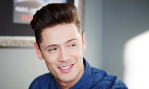 NV Salon and Spa: One or Three Men's Haircuts with Shampoo at NV Salon and Spa (Up to 57% Off)