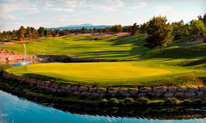Highland Falls Golf Course - Sun City Summerlin: $34 for an 18-Hole Round of Golf with Cart Rental and Range Balls at Highland Falls Golf Course (Up to $99 Value)