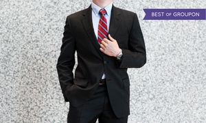 Luxury Plus: Three Custom Tailored Shirts or a Full Custom Wool Suit at Luxury Plus (Up to 80% Off)