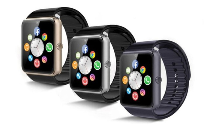 One or Two BAS-TeK GT08 Smartwatches from £11.91