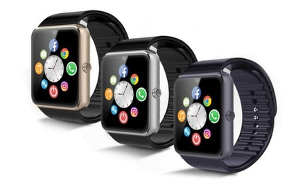 One or Two BASTeK GT08 Smartwatches in Choice of Colours