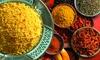 Menu arabo con 3 portate e tè