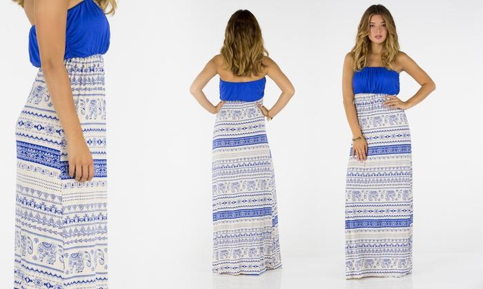 Love Tree Maxi Dresses (Size L)