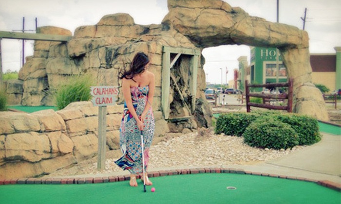 Colorado Canyon - Beaumont: Mini-Golf and Arcade Package for Two, Four, or Six with Drinks or Sno-EEs at Colorado Canyon (Up to 54% Off)
