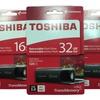 Toshiba 16GB, 32GB, or 64GB Retractable USB 3.0 Flash Drive