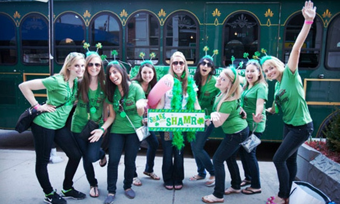 KC's Fake Patty's Caravan Crawl - Waldo: KC Crew Presents Fake Patty's Caravan Bar Crawl for One or Two on Saturday, March 9 (Up to 58% Off)