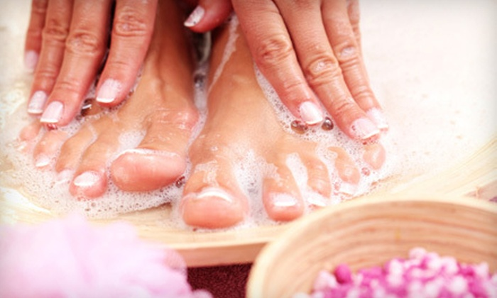 Ocean Nails & Spa - Hawkins Place: One or Three Mani-Pedis or Brazilian Waxes at Ocean Nails & Spa in Fort Walton Beach (Up to 62% Off)