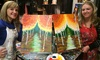 Creative Spirits - Meridian: Painting Art Party at Creative Spirits (Up to 51% Off)
