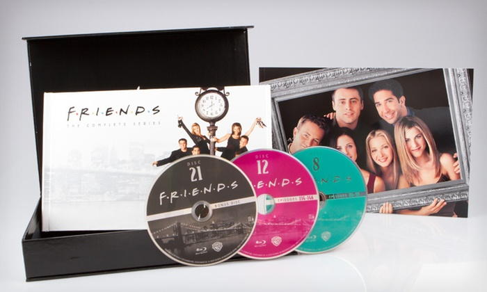 """Friends"" Complete Series on Blu-ray: $149 for ""Friends"": The Complete Series on Blu-ray ($279.98 List Price). Free Shipping."