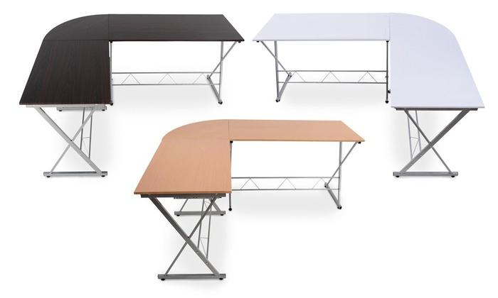 Curved Corner Desk Desk Chair On Wheels