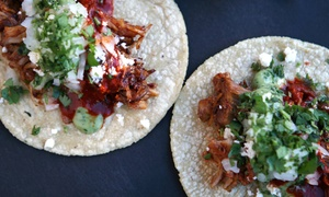 Barrio Star: $25 for Four Tacos and a Pitcher of Margaritas